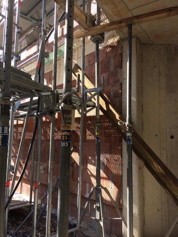 Aussensanierung Baustelle Daglfing