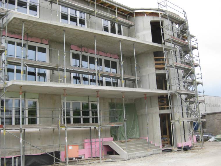 Baustelle Verwaltungsgebäude Kirchheim aus einer anderen Perspektive