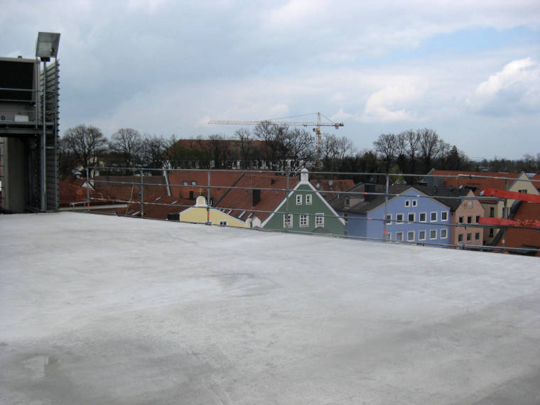 Betonierte Decke durch die Firma Pointner Bauunternehmung GmbH