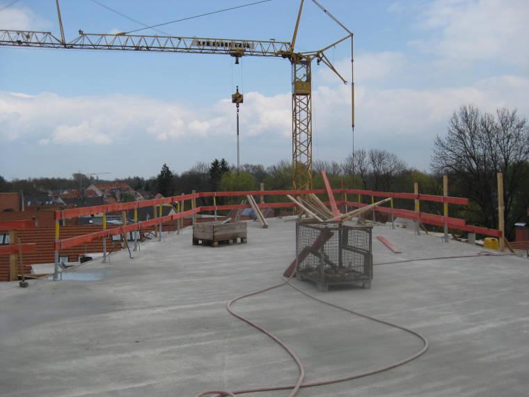 Betonierte Decke durch die Firma Pointner Bauunternehmung GmbH aus einer anderen Perspektive