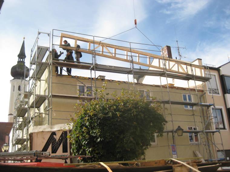 Altbausanierung in Erding durch die Firma Pointner Bauunternehmung GmbH