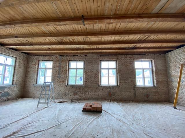 Freilegung Mauerwerk Alte Schule
