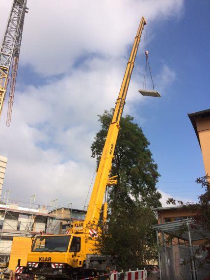 Krahn der Firma Pointner Bauunternehmung GmbH