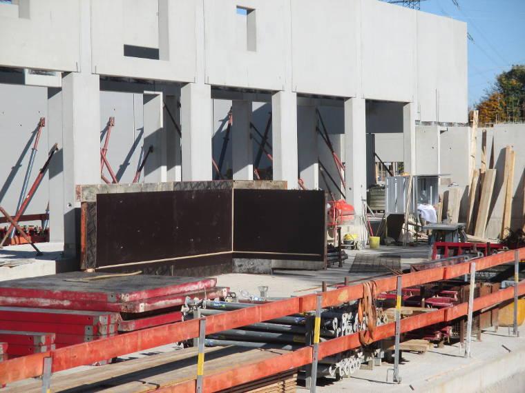 Schalungen der Firma Pointner Bauunternehmung GmbH