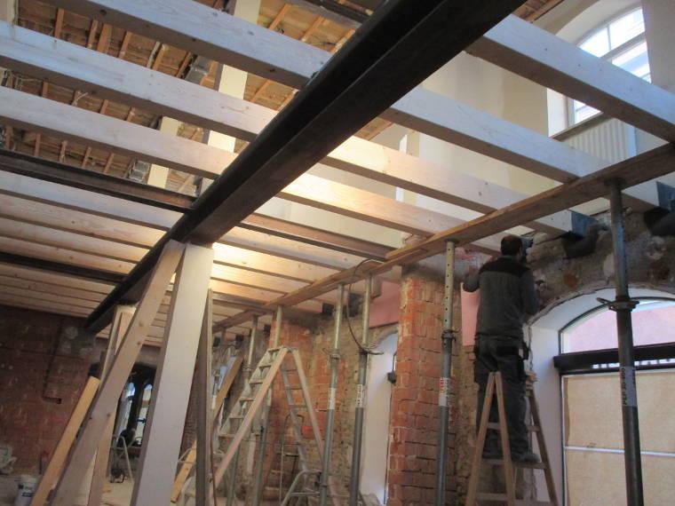 Innensanierung durch die Firma Pointner Bauunternehmung GmbH
