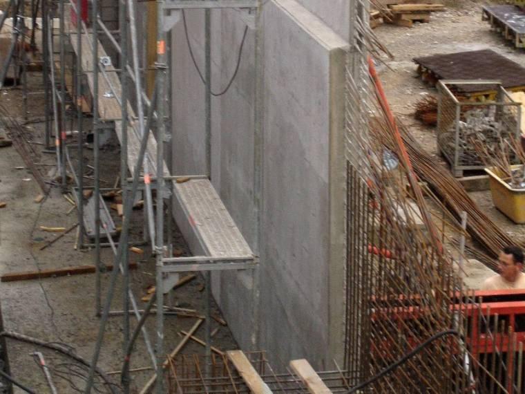 Baustelle Parkhaus Bender, München – Betonwände aus einem anderen Blickwinkel