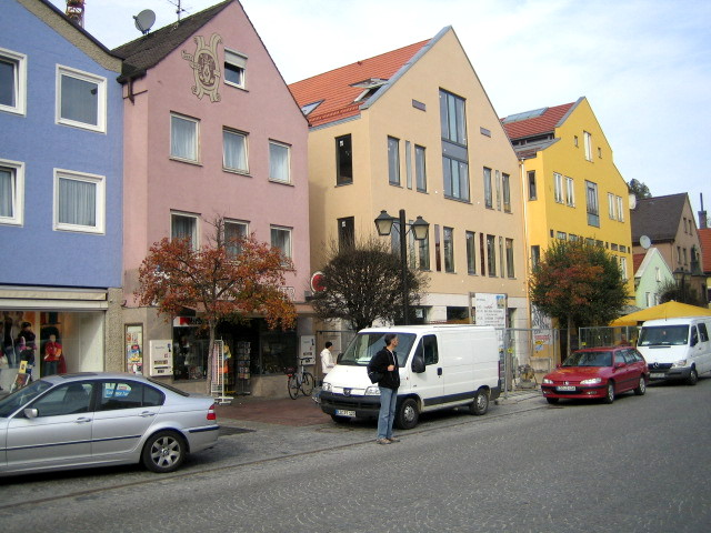 Neubau, Wohn- und Geschäftshaus, Erding